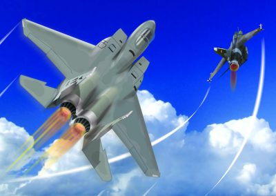 F14 vs Mig23